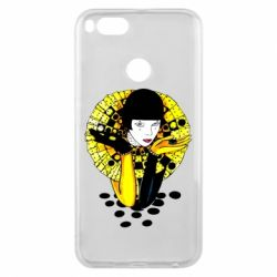Чехол для Xiaomi Mi A1 Black and yellow clown