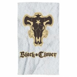 Полотенце Black clover logo