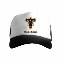 Детская кепка-тракер Black clover logo