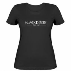 Жіноча футболка Black desert online