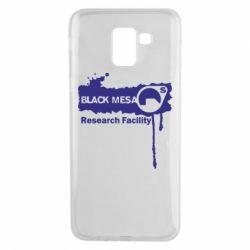 Чехол для Samsung J6 Black Mesa