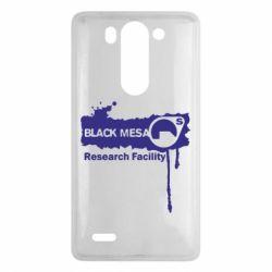 Чехол для LG G3 mini/G3s Black Mesa - FatLine