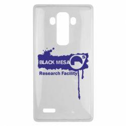 Чехол для LG G4 Black Mesa - FatLine