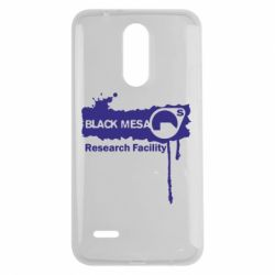 Чехол для LG K7 2017 Black Mesa - FatLine