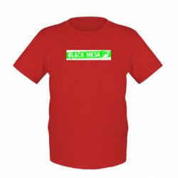 Детская футболка Black Mesa