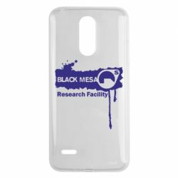 Чехол для LG K8 2017 Black Mesa - FatLine