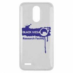 Чехол для LG K10 2017 Black Mesa - FatLine