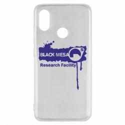 Чехол для Xiaomi Mi8 Black Mesa