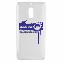 Чехол для Nokia 6 Black Mesa - FatLine