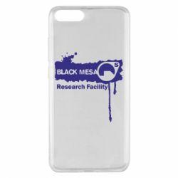 Чехол для Xiaomi Mi Note 3 Black Mesa