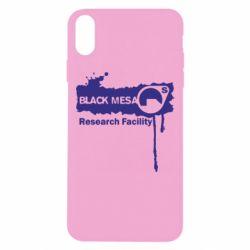 Чехол для iPhone Xs Max Black Mesa