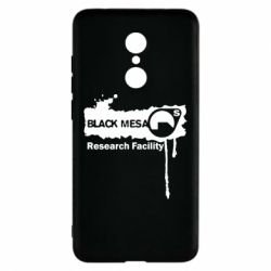 Чехол для Xiaomi Redmi 5 Black Mesa - FatLine