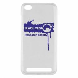 Чехол для Xiaomi Redmi 5a Black Mesa - FatLine