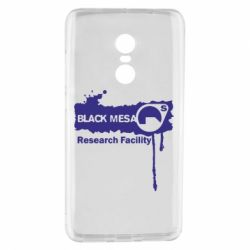 Чехол для Xiaomi Redmi Note 4 Black Mesa