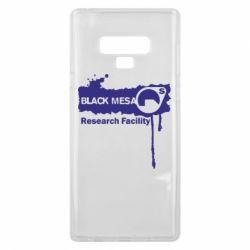 Чехол для Samsung Note 9 Black Mesa