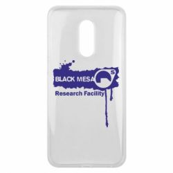 Чехол для Meizu 16 plus Black Mesa - FatLine