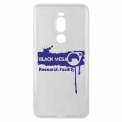 Чехол для Meizu Note 8 Black Mesa - FatLine