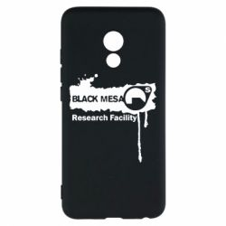 Чехол для Meizu Pro 6 Black Mesa - FatLine