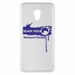 Чехол для Meizu Pro 6 Plus Black Mesa - FatLine