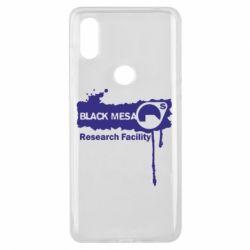 Чехол для Xiaomi Mi Mix 3 Black Mesa