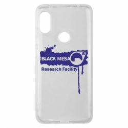 Чехол для Xiaomi Redmi Note 6 Pro Black Mesa