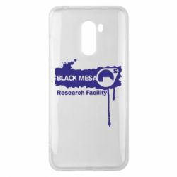 Чехол для Xiaomi Pocophone F1 Black Mesa - FatLine