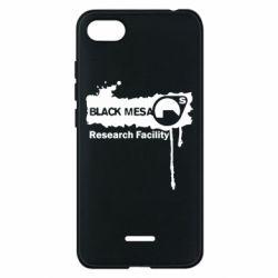 Чехол для Xiaomi Redmi 6A Black Mesa - FatLine
