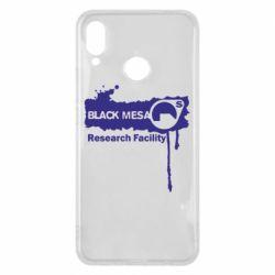 Чехол для Huawei P Smart Plus Black Mesa - FatLine