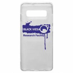 Чехол для Samsung S10+ Black Mesa