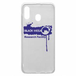 Чехол для Samsung A20 Black Mesa