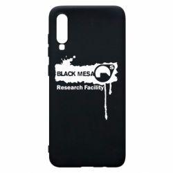 Чехол для Samsung A70 Black Mesa