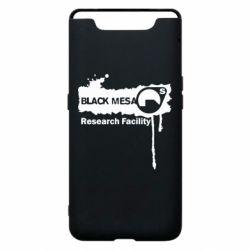 Чехол для Samsung A80 Black Mesa