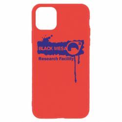 Чехол для iPhone 11 Black Mesa
