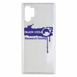 Чехол для Samsung Note 10 Plus Black Mesa
