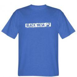 Мужская футболка Black Mesa - FatLine