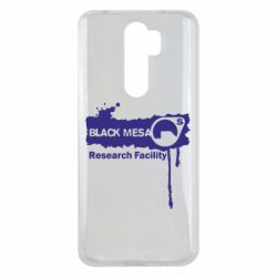 Чехол для Xiaomi Redmi Note 8 Pro Black Mesa