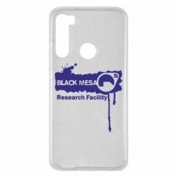 Чехол для Xiaomi Redmi Note 8 Black Mesa