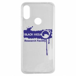 Чехол для Xiaomi Redmi Note 7 Black Mesa