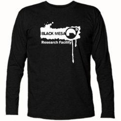 Футболка с длинным рукавом Black Mesa - FatLine