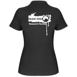 Женская футболка поло Black Mesa - FatLine