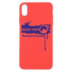 Чехол для iPhone X/Xs Black Mesa