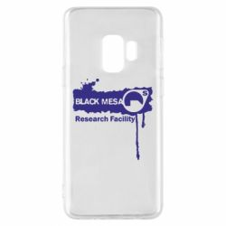Чехол для Samsung S9 Black Mesa