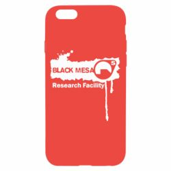 Чехол для iPhone 6/6S Black Mesa