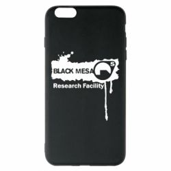 Чехол для iPhone 6 Plus/6S Plus Black Mesa