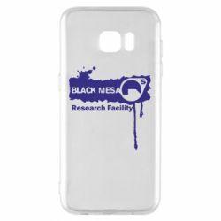 Чехол для Samsung S7 EDGE Black Mesa