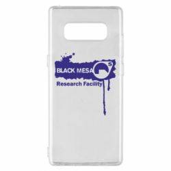 Чехол для Samsung Note 8 Black Mesa