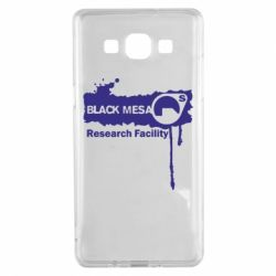 Чехол для Samsung A5 2015 Black Mesa