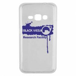 Чехол для Samsung J1 2016 Black Mesa
