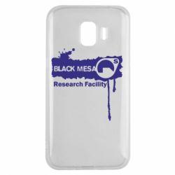 Чехол для Samsung J2 2018 Black Mesa