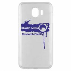 Чехол для Samsung J4 Black Mesa